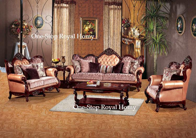 Carved Wood Living Room Furniture #17 Sofa Wood Carving Living Room  Furniture - Carved