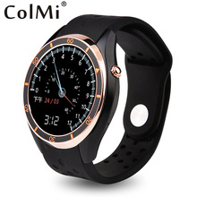 Buy ColMi VS110 Smart Watch Android 5.1 3G WIFI GPS Pedometer Heart Rate Monitor Push Message Phone Call APP Download Smartwatch for $125.53 in AliExpress store