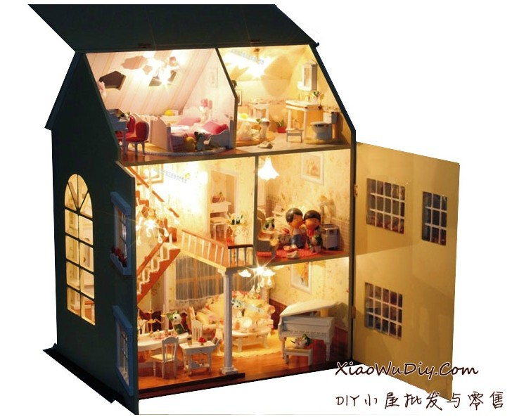 Doll house lighting for Doll house lighting