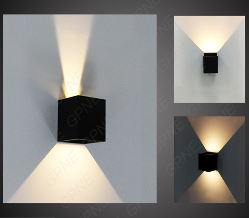 Outdoor Led Light Enchanting IP60 Cube Adjustable Surface Mounted Outdoor Led Lighting GD