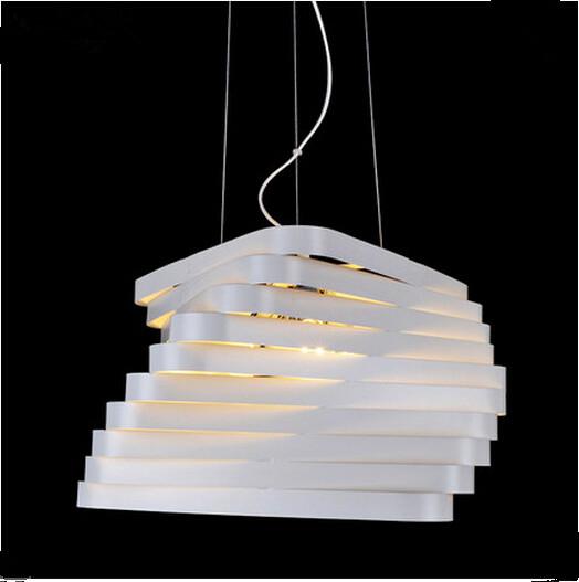 Creative twist pendant modern minimalist living room bedroom lighting fashion art restaurant lamp room Pendant lamp.<br><br>Aliexpress
