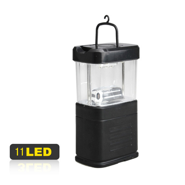Super Bright Portable Energy-saving Camping 11 LED Lamp