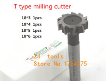 Buy Free 4pcs/set 18mm Straight shank T cutter superhard T T slot cutter cnc milling machine tool18mm * 3mm 4mm 5mm 6mm for $25.20 in AliExpress store