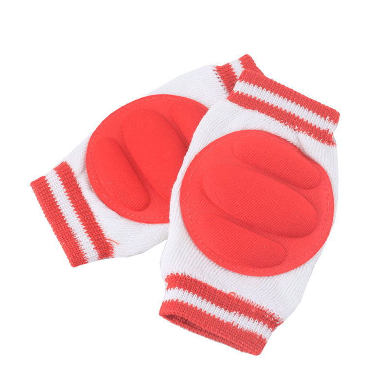 1 Pair Comfortable Baby Kids Toddler Crawling Safety Protector Knee Caps Pads #40889(China (Mainland))