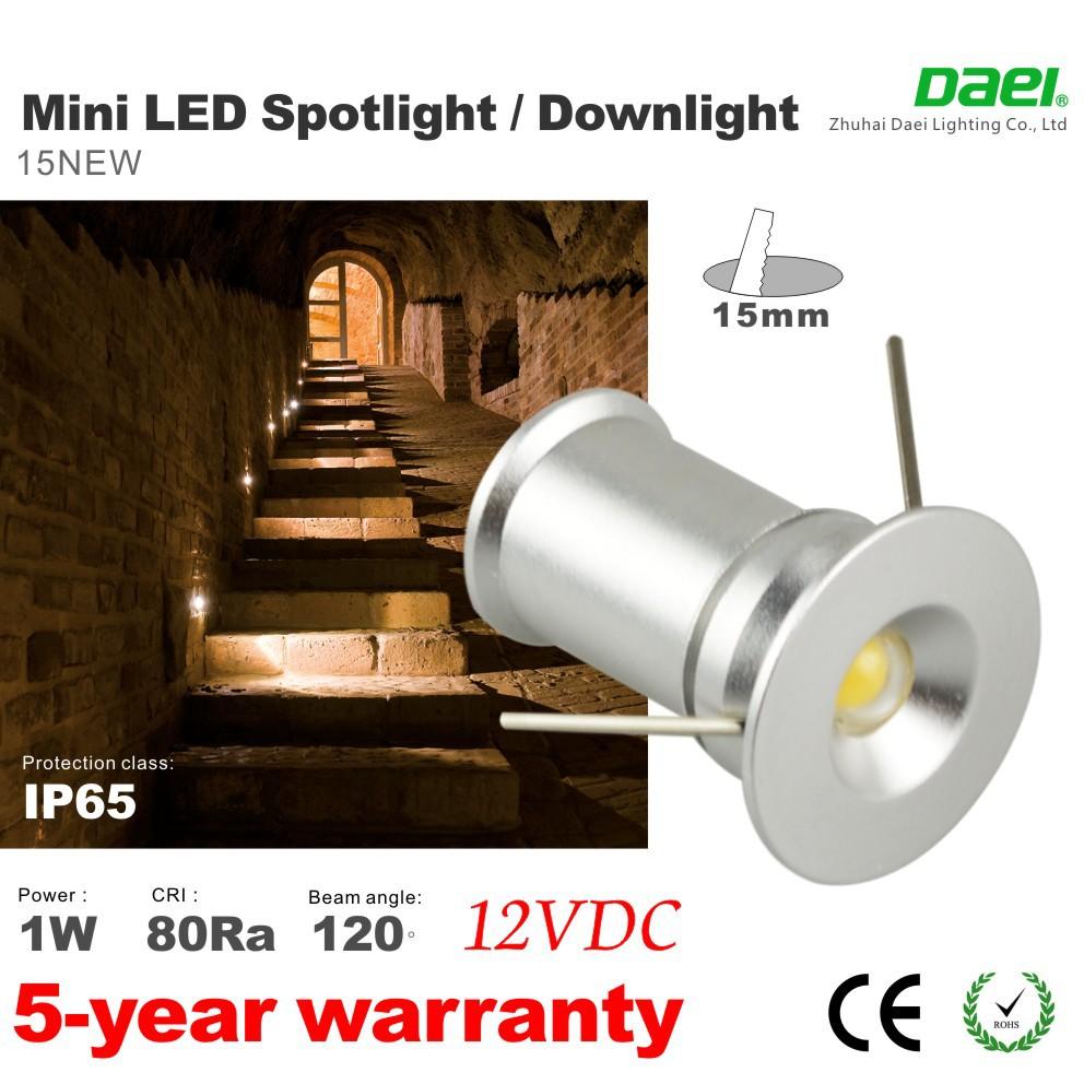 Free Shipping,2015 NEW 1W Super MINI LED Downlight DC12V DC24V LED Nightlight LED Recessed Lights  12pcs/lot(China (Mainland))