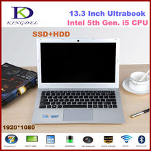 Core i5 Ultrabook Laptop Computer Notebook with 8GB RAM & 128GB SSD+1TB HDD Wifi HDMI Bluetooth Windows 8.1 Aluminum Alloy Case