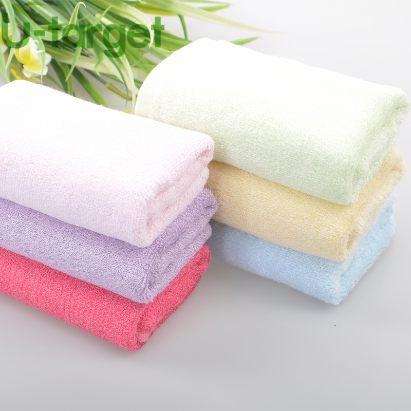 Face Hand Towel High Quality 25cm*25cm 100% Bamboo Fiber Brand Towel Set wholesale New 2015(China (Mainland))