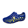 YIQITAZER 2017 Light Summer Beach Water Slipony Shoes Mens Slippers Cool Holiday Nice Slipon Shoes Man