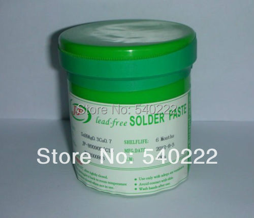 500g Lead Free SMT PCB BGA Soldering Paste Solder flux paste Grease Station/iron Sn99Ag0.3Cu0.7 - Dragon-five store