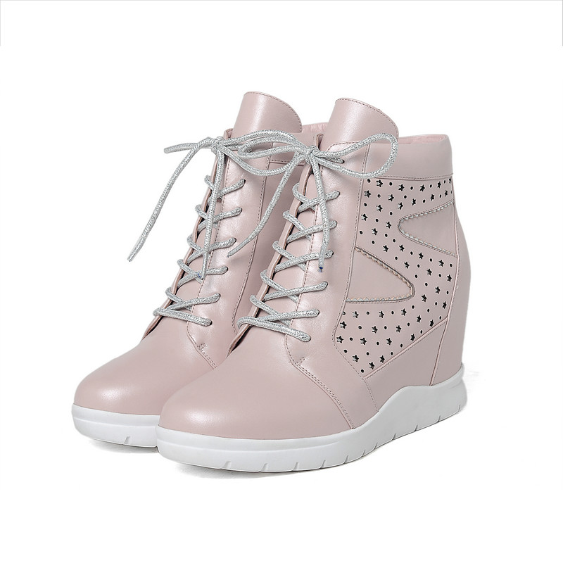 Pink Ankle Boots uk Ankle Boot Pink Wedge High