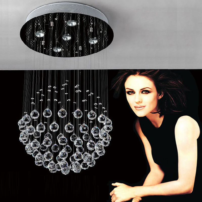 ceiling-chandelier-with-crystals-Elegant-LED-lamps-crystal-chandelier ...