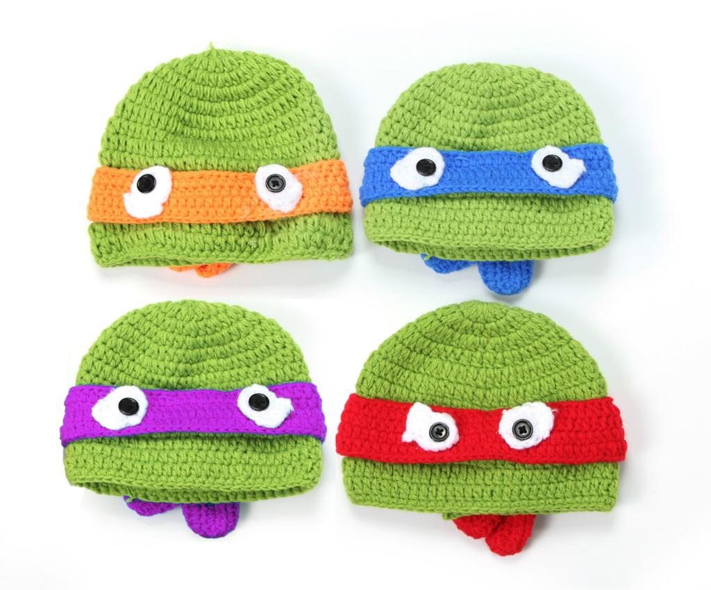 Cartoon Knitting Patterns : Hand woven baby hat cartoon boy child knitted hats