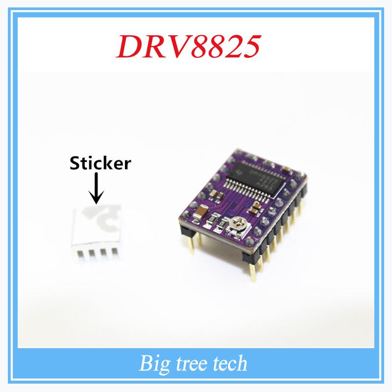 5pcs lot 3D Printer Stepstick Drv8825 Stepper Motor Driver Reprap 4 PCB Board Free shipping replace