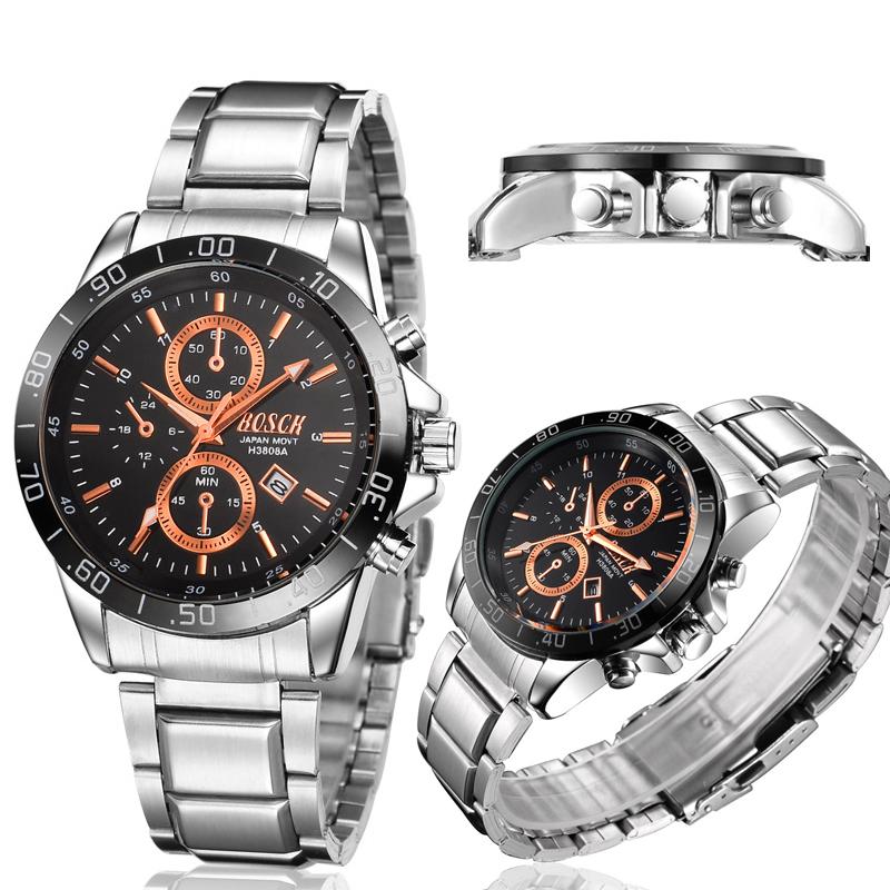 Free shipping high-end designer mens watches Fashion fake six-pin multi-purpose sports Mens watch Calendar Mens quartz watch <br><br>Aliexpress