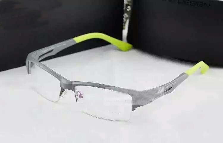 Free shipping brand P8329 men women unisex tr90 half rim optical spectacle frame sports sport eyeglasses glasses frame(China (Mainland))
