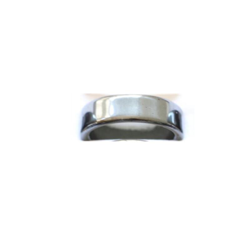 Clearance Wholesale Mixed Lots 10Pcs Unisex Hematite Stone Rings 16-21mm Size Random(China (Mainland))
