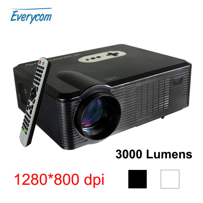 3000 Lumens Hd Home Theater Multimedia Lcd Led Projector: 2016 Home Led Tv CL720D Game Projector 3000 Lumens LED