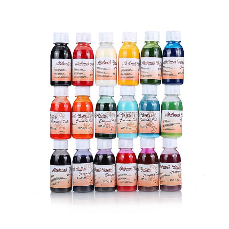 Buy 5 airbrush tattoo ink body paint for Airbrush tattoo paint