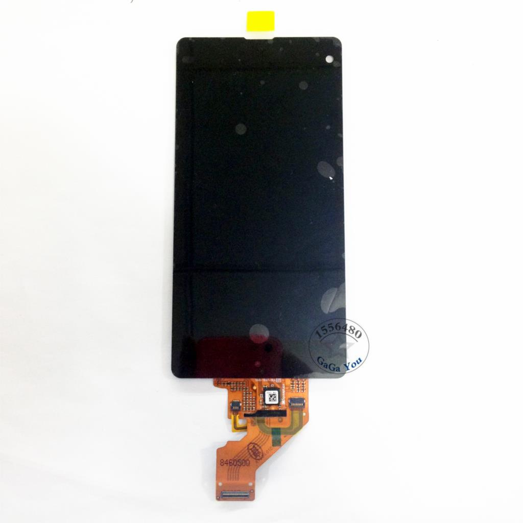 For Sony Xperia Z1 Compact M51W Z1 Mini D5503 Black LCD Display Touch Screen Digitizer Assembly+ Adhesive Tape+ Repair Tools