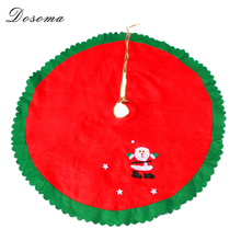 Buy 4pcs/lot Nonwovens Christmas Tree Skirt Printing Santa Clause Tree Skirt Xmas Tree Cover Christmas Tree Decorations Home for $16.25 in AliExpress store