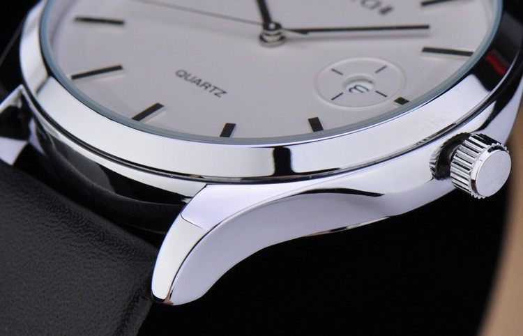 2016 WHESTCHI часы мужчины qulity мужские кварцевые часы натуральная кожа мода платье бизнес водонепроницаемый 30 м женщины watchwhes