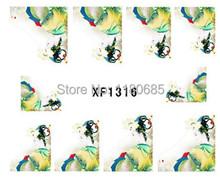 Water Transfer Nail Sticker 12PCS lot French Minx Style DIY Beauty Salon Acrylic Nail Decals Design