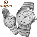 EASMAN a Pair Watches Couple Lovers Fashion Casual Calendar Waterproof Quartz WatchGift For Lovers Laides Mens