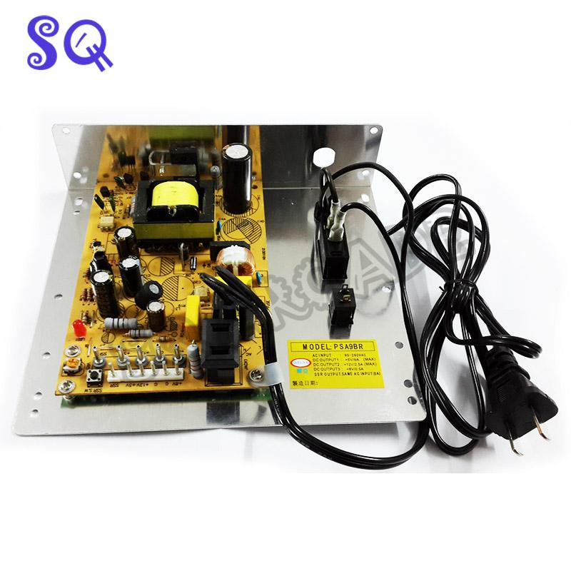 Top-quality support Arcade Machine Parts/Game Cabinet Accessories AC input 95-260VAC DC Output +5V/9A +12V/2.5A +8V/0.5A(China (Mainland))