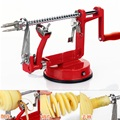 3 in 1 stainless steel Apples Fruit Peeler manual Tornado Potato Slicer Machine Fruit Peeled Tool