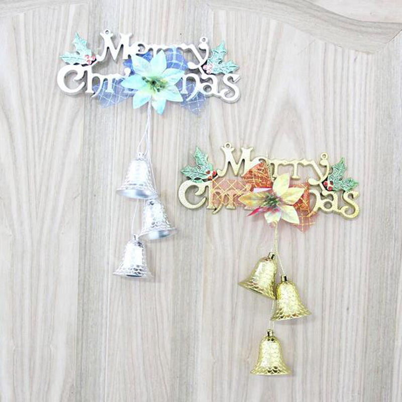1Pc Gold Silver Fashion Merry Christmas Ornament Polymer Pendants For Home Christmas Tree Baubles Cristmas Tree Decoration Gifts(China (Mainland))