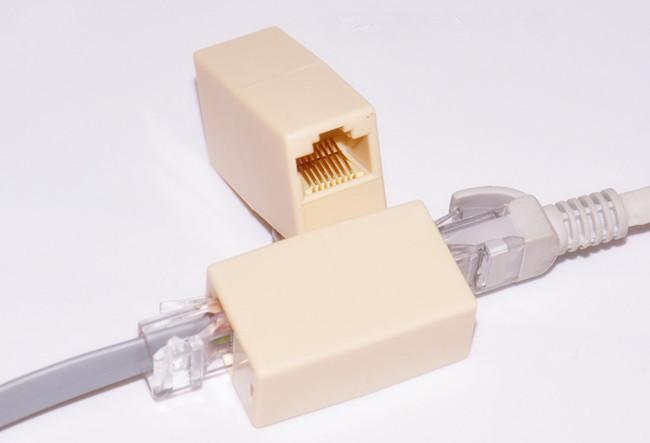 Гаджет  10pcs x New Newtwork Ethernet Lan Cable Joiner Coupler Connector RJ45 CAT 5 5E Extender Plug None Электротехническое оборудование и материалы