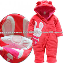2015 new year autumn Winter romper baby clothes baby girl cotton romper baby wear newborn kids overall christmas baby jumpsuits(China (Mainland))