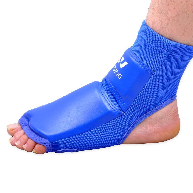 Half Finger Boxing Foot Guard Leggings Leg Instep Protector Ankle Support Sanda MMA Karate Muay thai