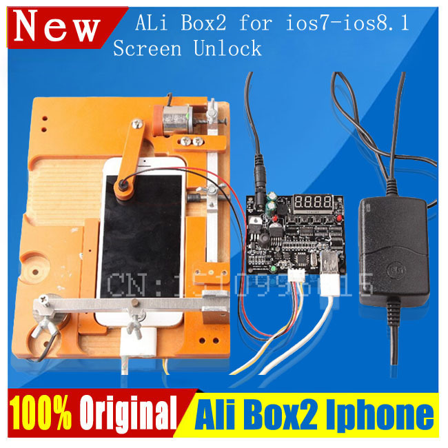 Newest Ali Box 2 All in one ip repair box non-teardown for ios7 ios8.1 ipbox for repair and flash for 4s 5 5c 5s 6p(China (Mainland))
