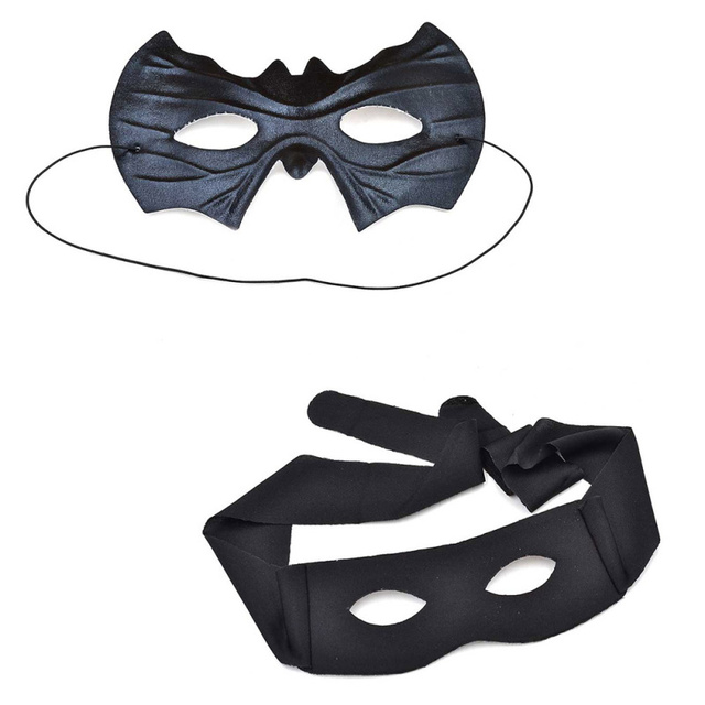 Masquerade Halloween Party Ball Costume Super Hero Batman Zorro Eye Mask