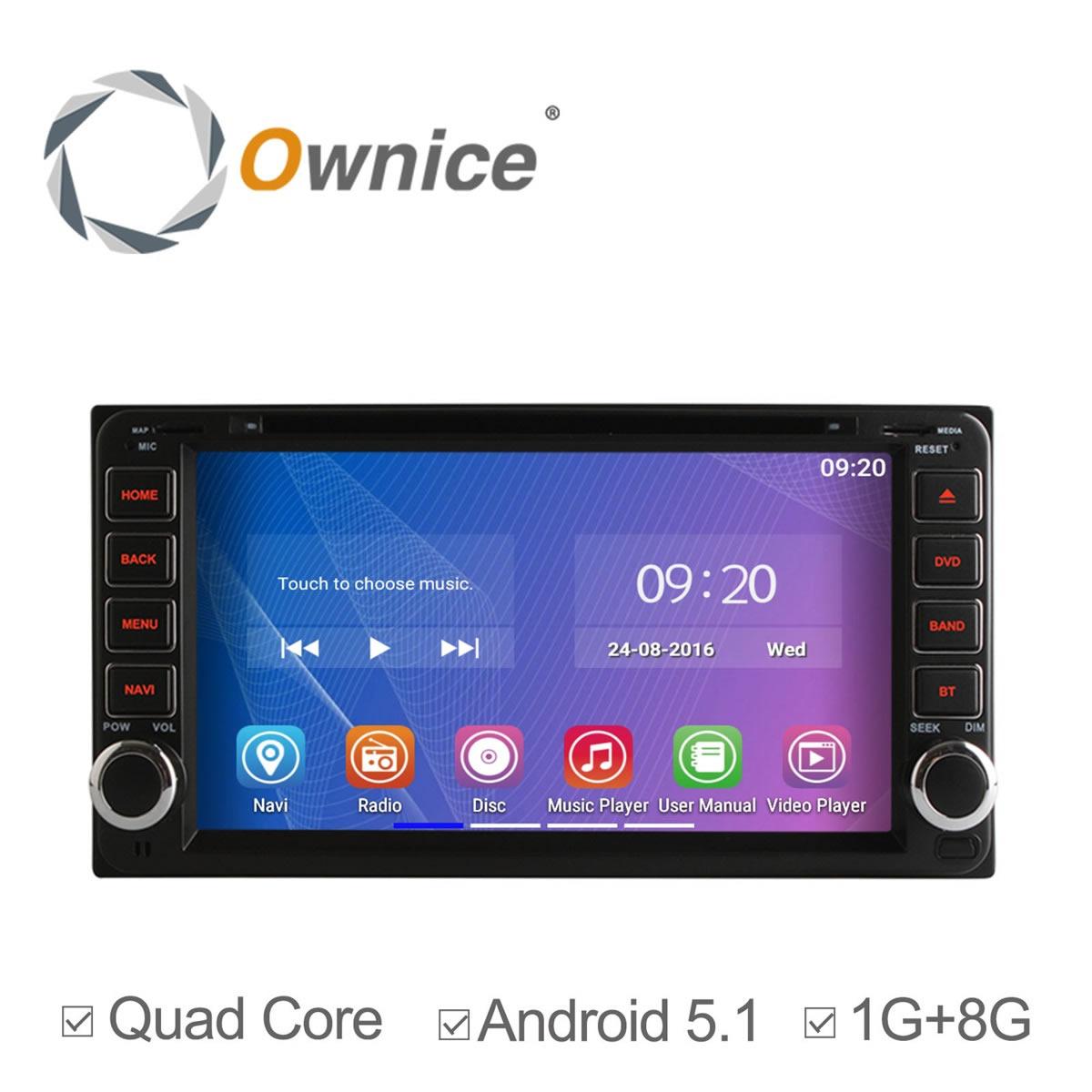 Free Shipping Quad-Core A9 Pure Android 5.1 Car DVD GPS Video Player For Toyota RAV4 COROLLA Previa VIOS HILUX Prado Terios(China (Mainland))