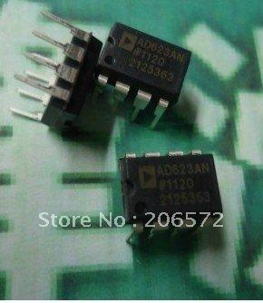 Здесь можно купить  Free shipping  5PCS  AD623AN DIP-8 Integrated circuit ( IC ) good quality and ROSH  Электронные компоненты и материалы
