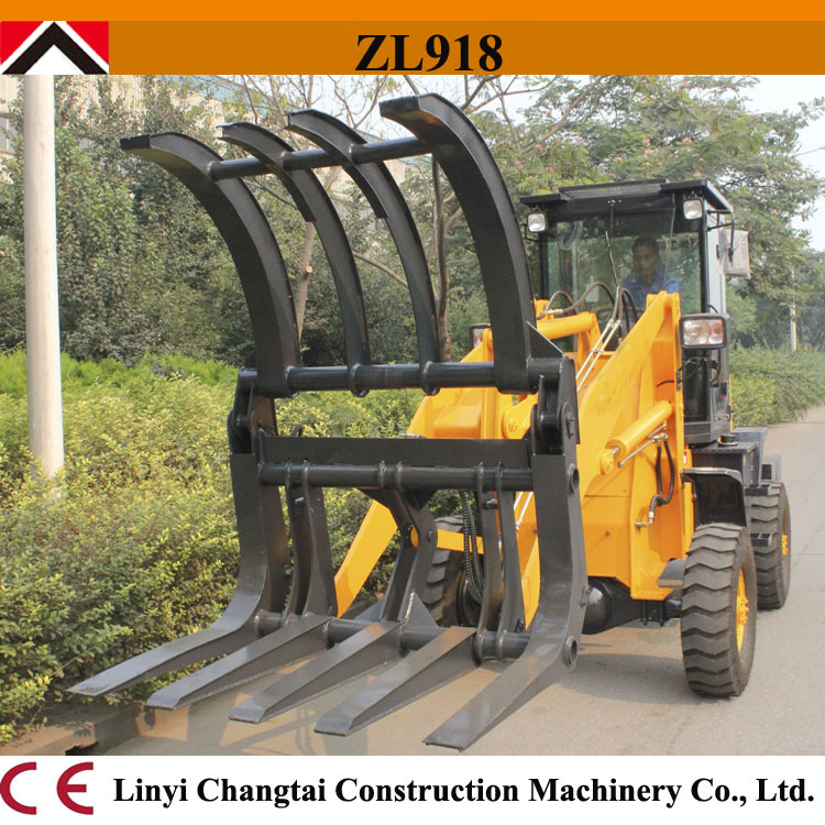 Hot hydraulic power wheel loader water cooling! China wheel loader 1.8t 0.45CBM ZL918A mini wheel loader for sale for exporting(China (Mainland))