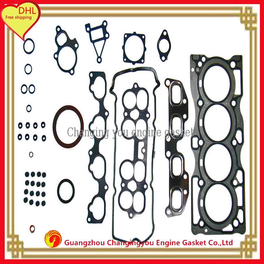 Engine Head Gasket set QR25DE Automotive Spare Parts Engine Parts Full Set fits NISSAN X-TRAIL 16V A0101-ET80J 50240800(China (Mainland))