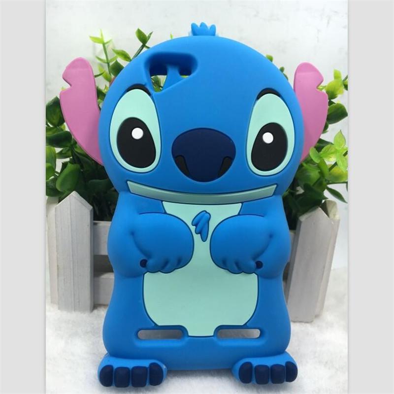 Cute Stitch Cartoon Silicone Case Lenovo Vibe K5 K5 Plus A6020a40 A6020a46 Lemon 3 Soft Phone Back Cover