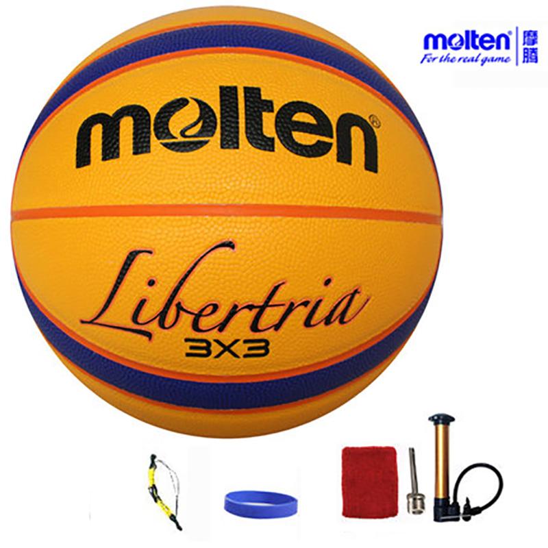 original molten basketball ballB33T5000 NEW Brand High Quality Genuine Molten PU Material Official Size6 Basketball(China (Mainland))