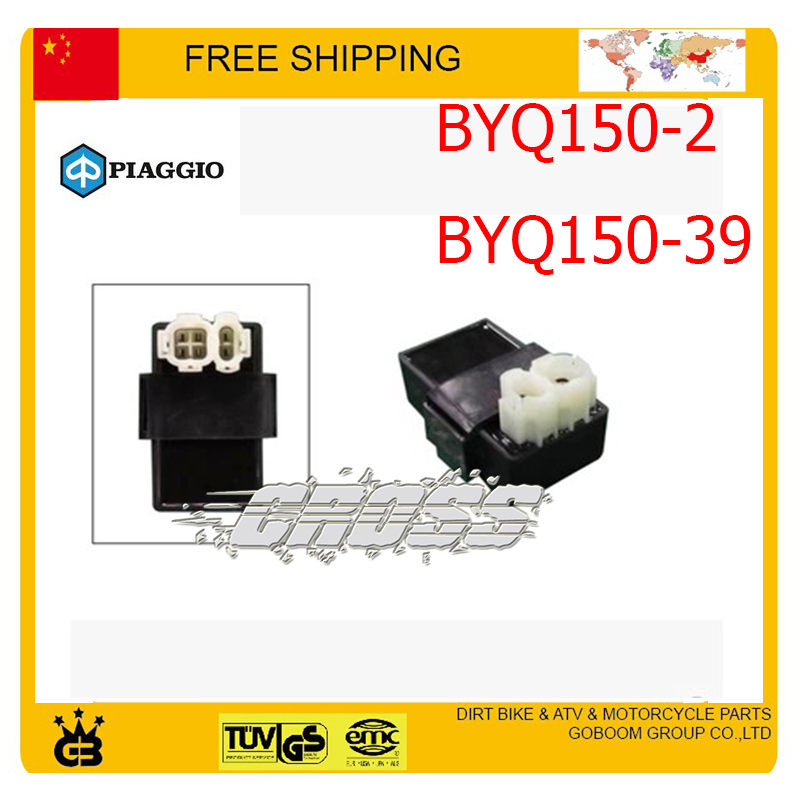 PIAGGIO 150CC 125cc CDI BOX BYQ150-2/BYQ150-39 125-2 125-8 parts CDI UNIT SCOOTER ACCESSORIES free shipping(China (Mainland))