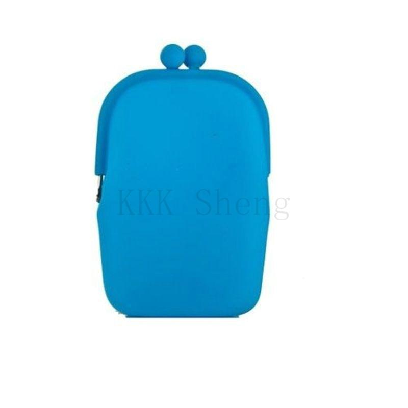 Новинка конфеты цвета каучук силиконовый косметички женщин / дизайнер дешевые мини-макияж мешочек для хранения сумки мешка