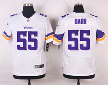 Minnesota Vikings #97 Everson Griffen #84 Cordarrelle #82 Kyle Rudolph #55 Anthony Barr Elite White and Purple Team Color(China (Mainland))