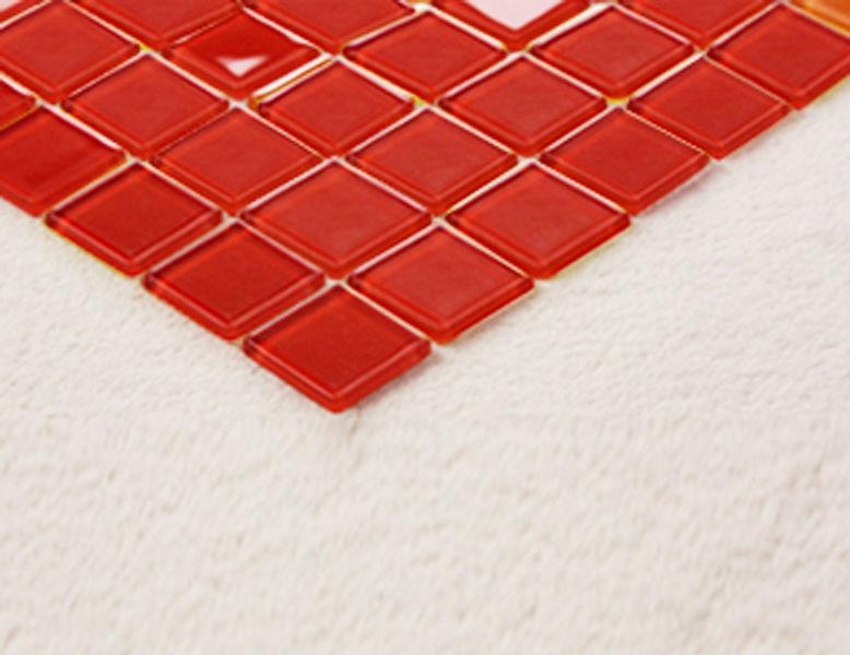 product id 1224124535 red glass backsplash tile kitchen mosaic art
