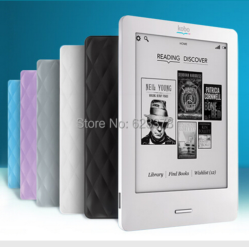 """2015 Hot Sale 6"""" PDF Livros Ereader Brand Kobo Touch N905 2GB Ebook Reader 6'' Inch Screen Wifi Electronic Book(China (Mainland))"""