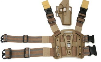 Glock 17 19 23 32 36 Holster Hunting gun accessories Blackhawk Close Quarters Concealment Military Thigh GLOCK Holster<br>