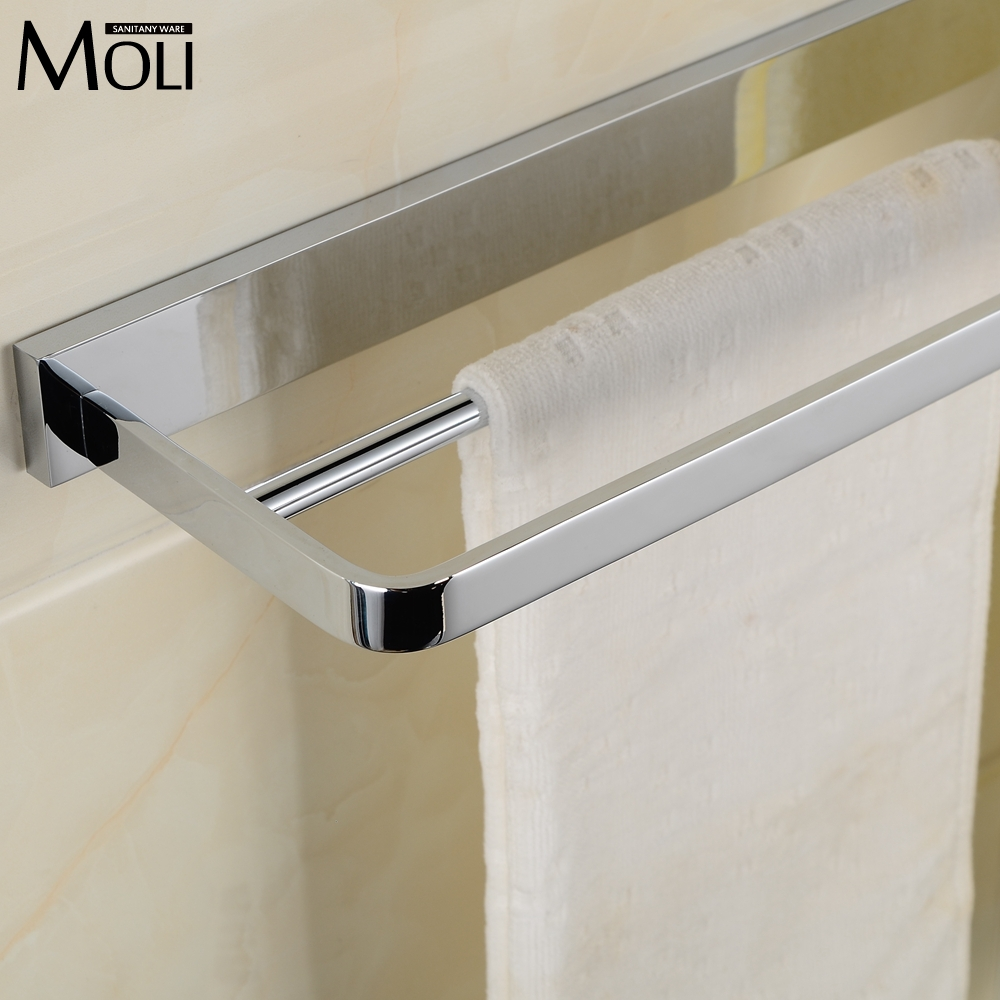 Popular towel bar buy cheap towel bar lots from china for Luxury bathroom towel racks