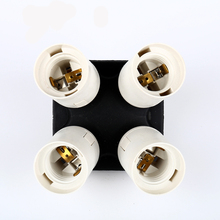 Buy CY stock 4in1 E27 Base Socket Light Lamp Bulb Holder Adapter Splitter Photography Studio Accessories Softbox Photo Video for $9.23 in AliExpress store