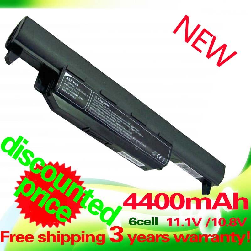 4400mAh Laptop Battery For ASUS A32 K55 K55 Series A33 K55 A41 K55 A75A A95 A55D